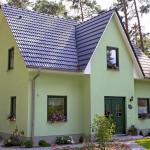 Einfamilienhaus Frontansicht