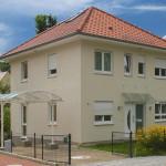 Stadtvilla Seitansicht